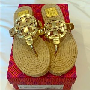 Like New 💛 Tory Burch Miller Espadrille Sandal